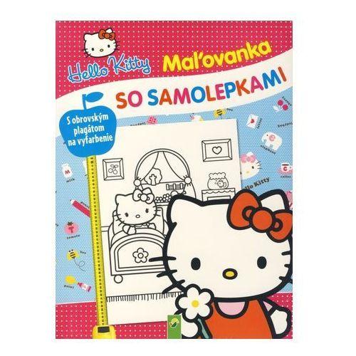 Hello Kitty - Maľovanka so samolepkami autor neuvedený (9783849906696)