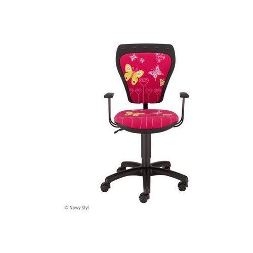 Nowy styl Krzesło dziecięce cartoons line black gtp ts22
