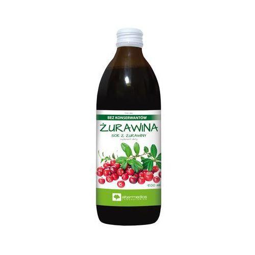 Płyn ŻURAVISOL C sok z żurawiny 500 ml