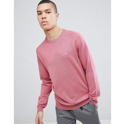 crew neck jumper with wasp embroidery in pink - pink marki River island