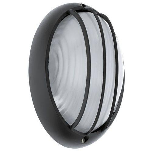 Kinkiet lampa ścienna plafon Eglo Siones 1 1x6W LED czarny/biały 96339, 96339