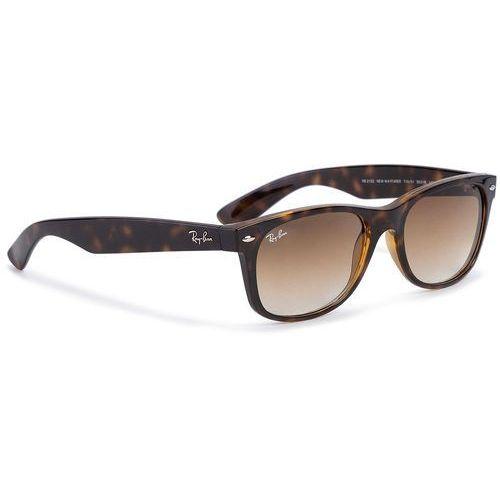 Ray-ban Okulary przeciwsłoneczne - new wayfarer 0rb2132 710/51 tortoise/light brown gradient