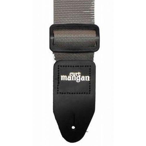 srebrny pas gitarowy marki Curt mangan