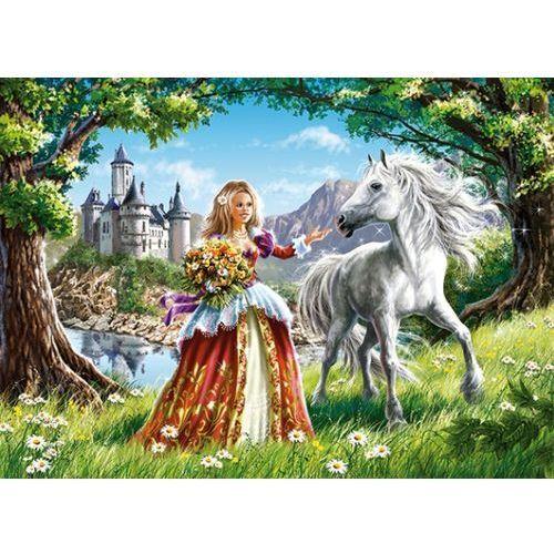 1-006830 Puzzle Księżniczka i jej przyjaciel - PUZZLE DLA DZIECI