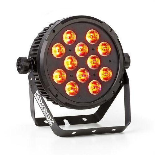 Beamz bt300 projektor flatpar 12x 12 w 6 w 1 led rgbaw-uv dmx pilot na podczerwień (8715693284430)