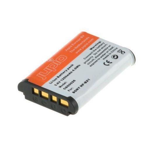 Akumulator Jupio Sony NP-BX1 (InfoChip) 3.6V 1250mAh (CSO0026) Darmowy odbiór w 20 miastach! (8718503021010)