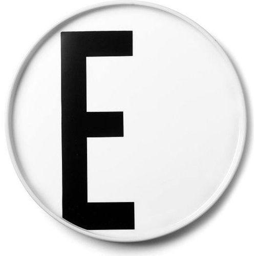 Talerz porcelanowy AJ litera E