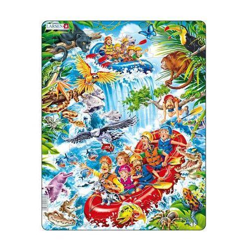 Neuveden Puzzle maxi - raft na amazonce/35 dílků