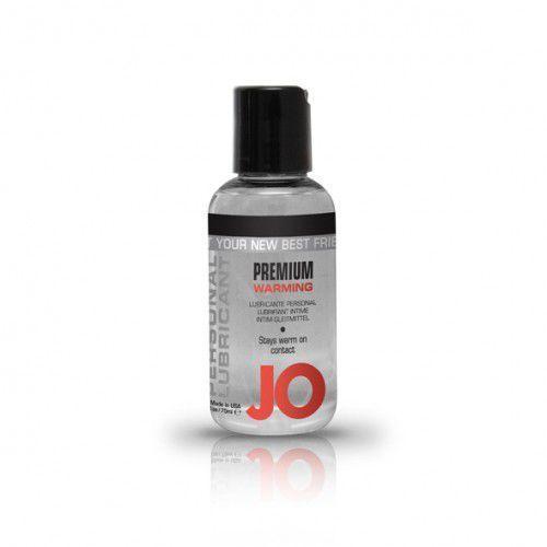 System jo Lubrykant silikonowy -  silicone lubricant warming 75 ml rozgrzewający