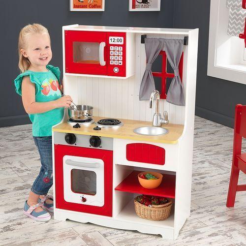 Kidkraft Zestaw produktów spożywczych do zabawy w gotowanie, 82 elementy, zab   -> Kuchnia Drewniana Dla Dzieci Kidkraft