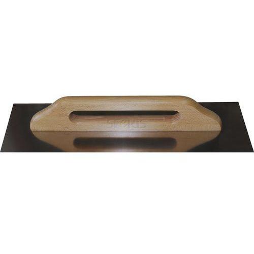 Paca nierdzewna 130x480 mm, uchwyt drewniany DREL - DR-BPN-D0148