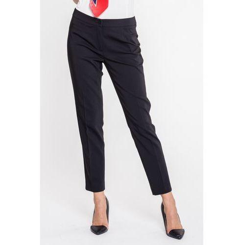 Klasyczne, proste spodnie biurowe - Bialcon, 1 rozmiar