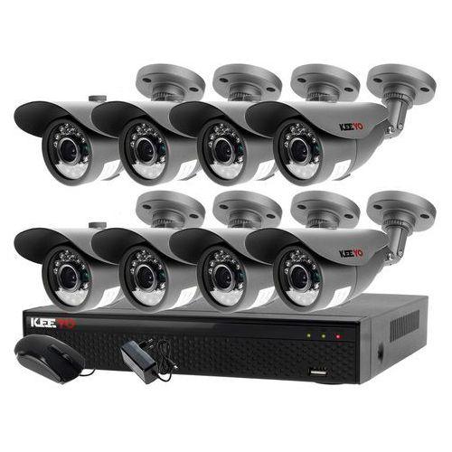 Zestaw do monitoringu zewnętrzne kamery 8 x LV-AL20MT + Rejestrator LV-XVR84N