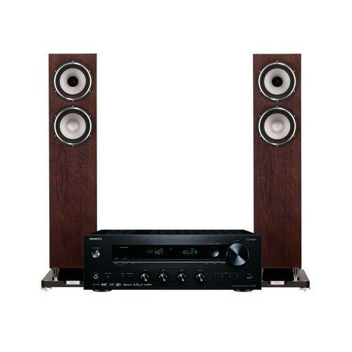 Onkyo Zestaw stereo tx-8270b + tannoy revolution xt 6 f orzech + darmowy transport! (2900474613011)