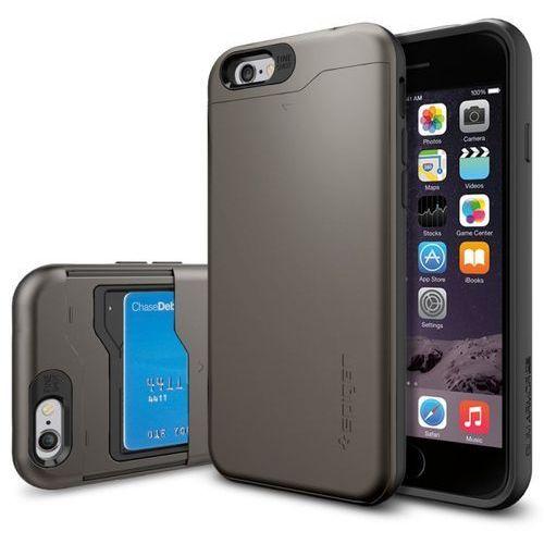Etui SPIGEN SGP10964 do iPhone 6 (4.7) Metaliczny - produkt z kategorii- Futerały i pokrowce do telefonów