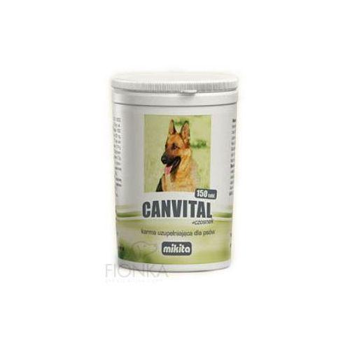 MIKITA Canvital + czosnek preparat kondycyjny dla psów