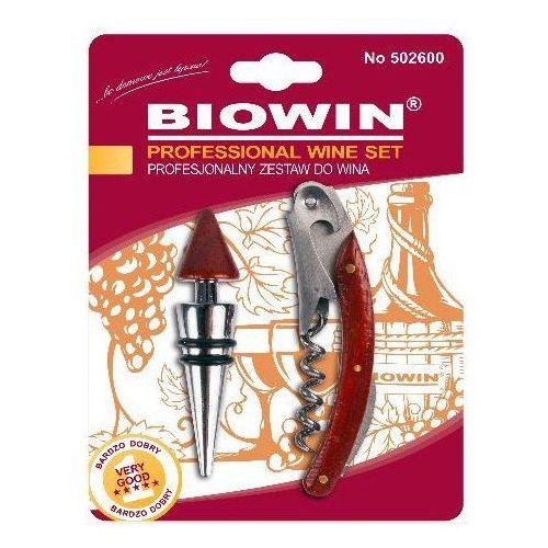 Biowin Zestaw do wina 502600 (2 elementy) (5904816917796)