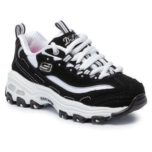Sneakersy - d'lites biggest fan 80587l/bkw black/white marki Skechers