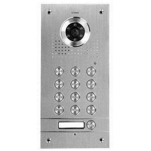 Vidos Stacja bramowa z szyfratorem S561D (podtynkowa) S561D - Autoryzowany partner Vidos, Automatyczne rabaty., S561D