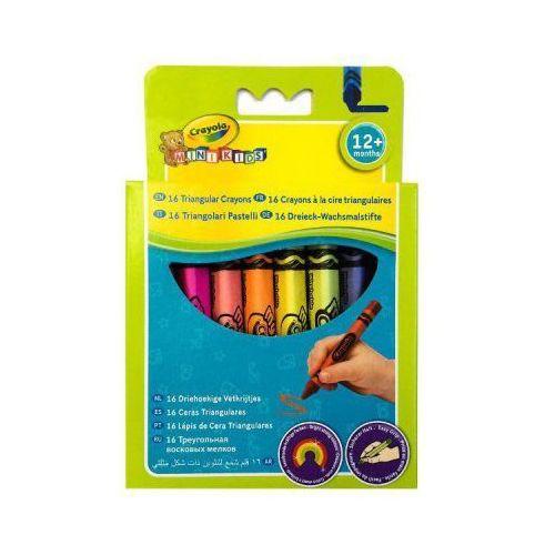Crayola Kredki świecowe trójkątne