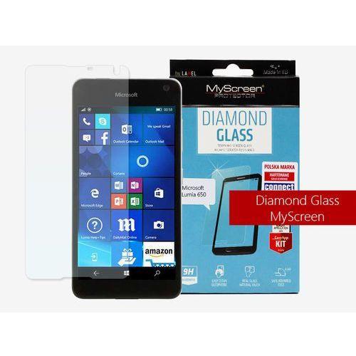 Microsoft lumia 650 - szkło hartowane diamond glass marki Myscreen protector