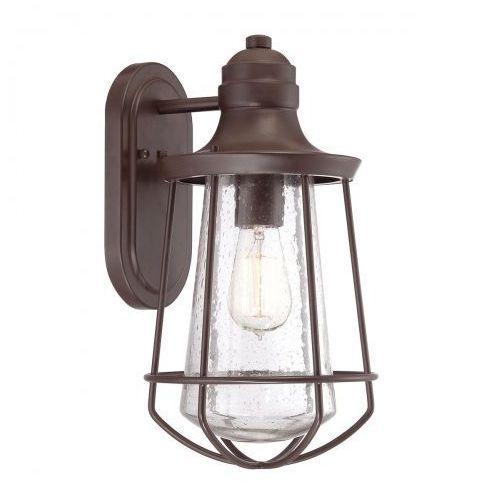 Zewnętrzna lampa wisząca kl/lyndon8/s kichler metalowa oprawa ogrodowy zwis ip23 outdoor brązowy marki Elstead