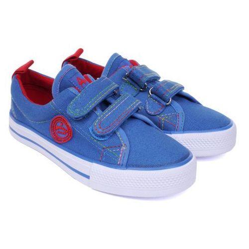 Półtrampki dziecięce American Club LH-16-DSTC05-1/2B classic blue 28 niebieski, kolor niebieski