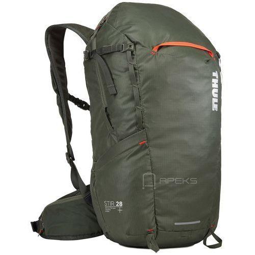 Thule stir 28l plecak turystyczny męski / wycieczkowy / dark forest - dark forest