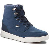 Sneakersy - explorateur techhi3181 cam 7-38cam0034nd1 nvy/dk blu marki Lacoste