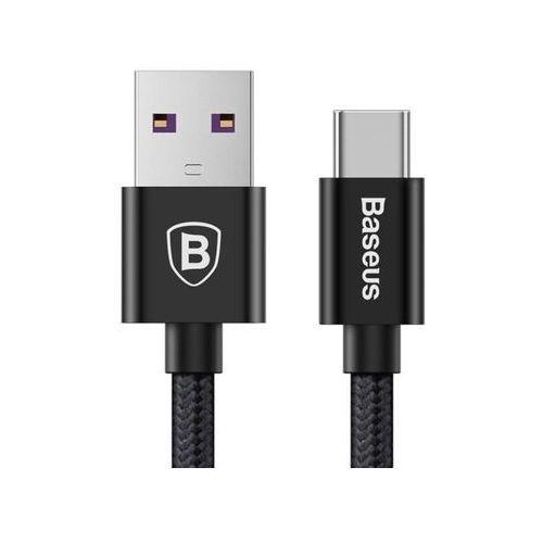 Baseus kabel speed qc quick charger usb-c typ c 5a 1m czarny - czarny