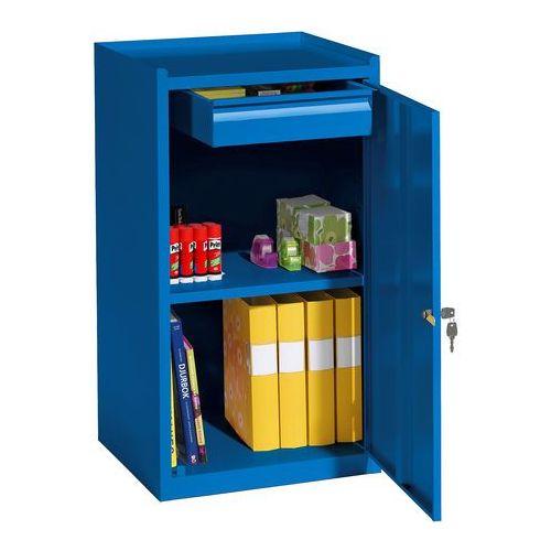 Aj produkty Szafka warsztatowa, szuflada, 900x500x450 mm, niebieski