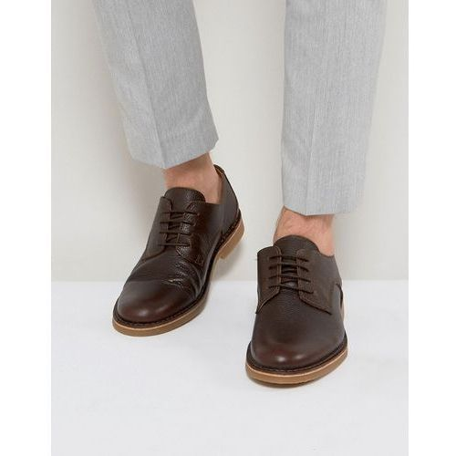 royce desert leather shoes in brown - brown marki Selected homme