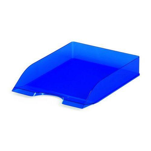 Półka na dokumenty Durable Basic przezroczysta niebieska