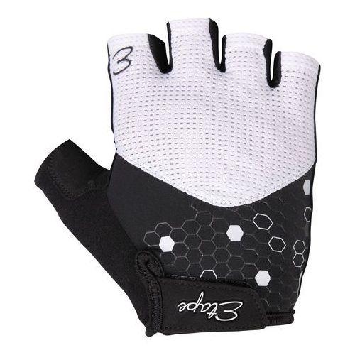 Etape rękawiczki rowerowe damskie Betty, biało-czarny S (8592201046397)