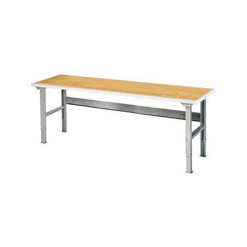 Aj produkty Stół roboczy solid, 500 kg, 2000x800 mm, dąb