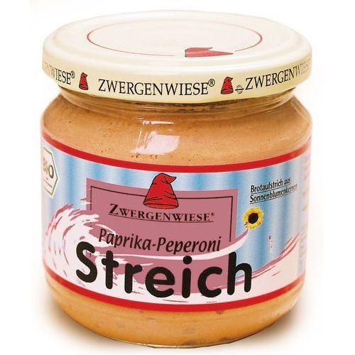 : pasta słonecznikowa z papryką pepperoni bio - 180 g marki Zwergenwiese