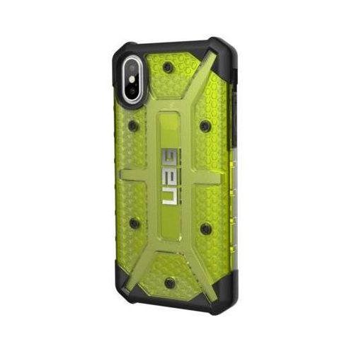 Etui URBAN ARMOR GEAR Plasma Case do iPhone X Zielony/przezroczysty, kolor zielony