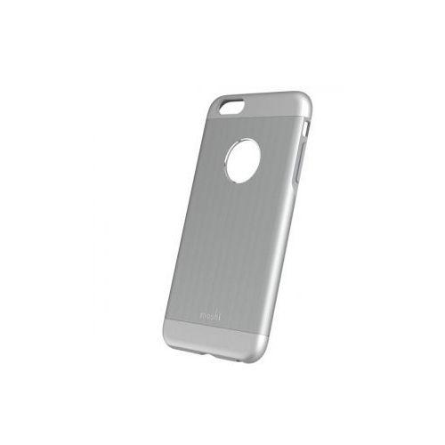 Moshi iGlaze Armour - Etui iPhone 6 Plus z folią na obudowę w zestawie (szary) Odbiór osobisty w ponad 40 miastach lub kurier 24h (4712052317079)
