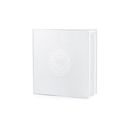Księga gości na komunię biała - 25 kartek - 1 szt. marki Party deco