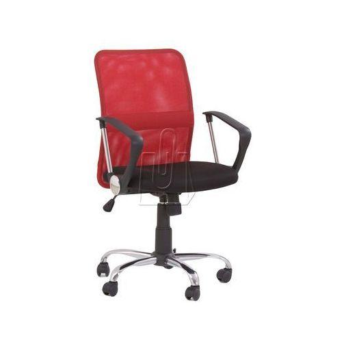Halmar Fotel pracowniczy tony czerwony (2010000177303)