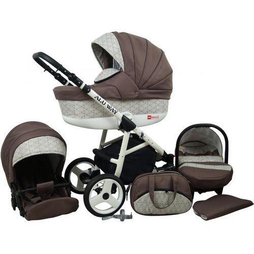Sun baby wózek wielofunkcyjny alu way 3w1, latte (2009957740029)