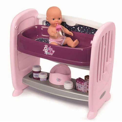 220353 baby nurse 2w1 łóżeczko + lalka marki Smoby