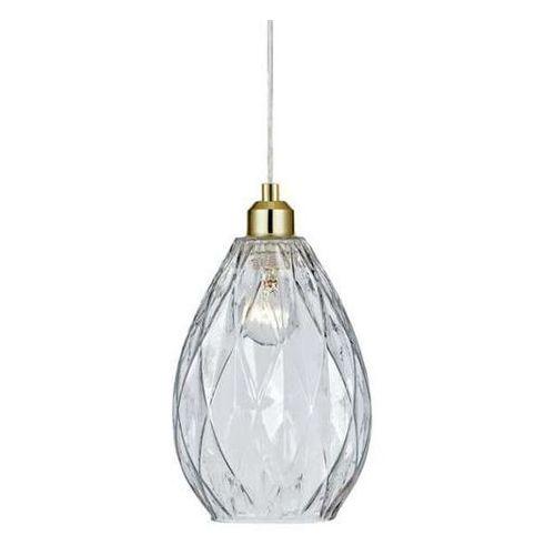 Lampa wisząca vogue 106789 szklana oprawa zwis kropla łezka przezroczysta marki Markslojd