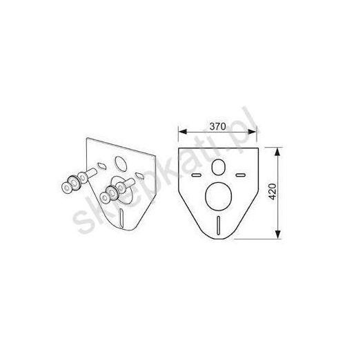 Tece Profil podkładka izolacyjna do miski ustępowej i bidetu 9200010