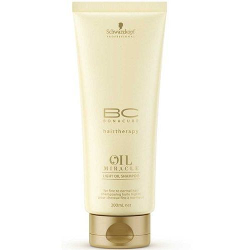 Schwarzkopf professional bc-bonacure hairtherapy oil miracle light oil shampoo 200 ml