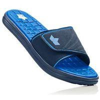 Klapki kąpielowe bonprix ciemnoniebiesko-błękit królewski, kolor niebieski