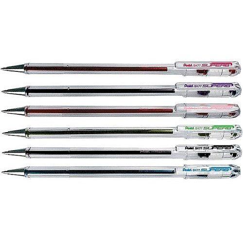 Długopis Pentel SuperB BK77 różowy