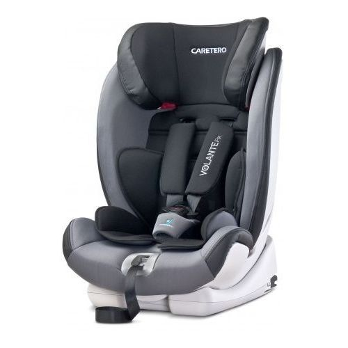 Caretero Volante Fix fotelik samochodowy 9-36 kg + Isofix graphite