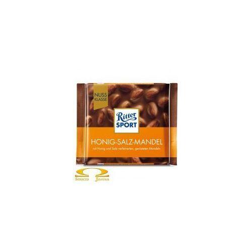 Czekolada Ritter Sport Honig-Salz-Mandel 100g, FF07-62414