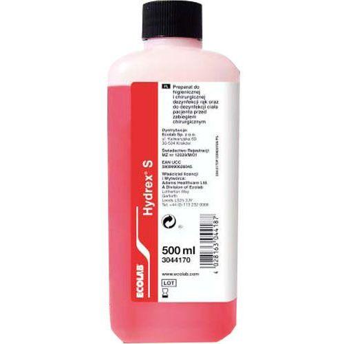 hydrex s - płyn do dezynfekcji rąk i ciała pacjenta - 500ml * marki Ecolab